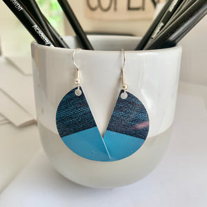 Balance Arc Earrings - Teal (New)