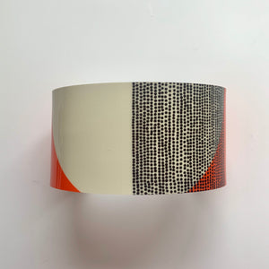 Balance Wide Cuff Bracelet - Orange Band (New)