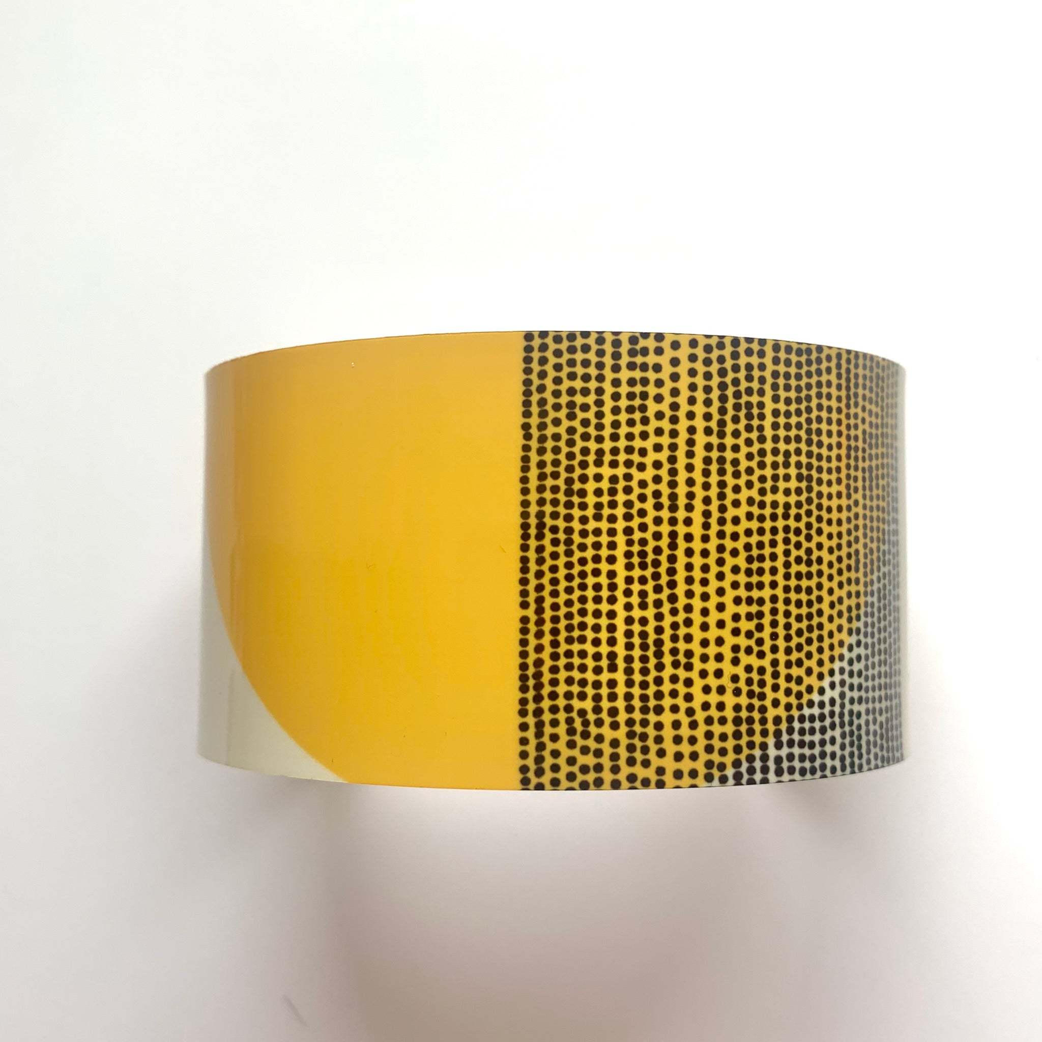 Balance Wide Cuff Bracelet - Ochre Arc (New)