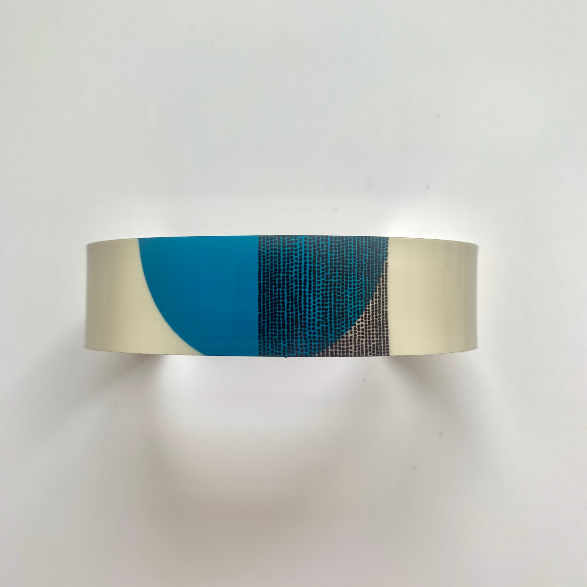 Balance Narrow Cuff Bracelet - Teal Arc (New)