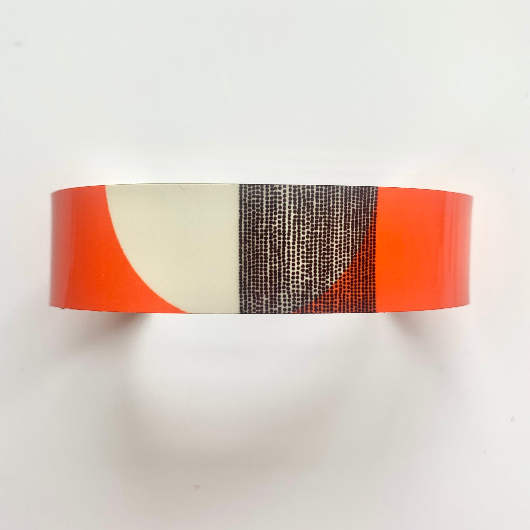 Balance Narrow Cuff Bracelet - Orange Band (New)