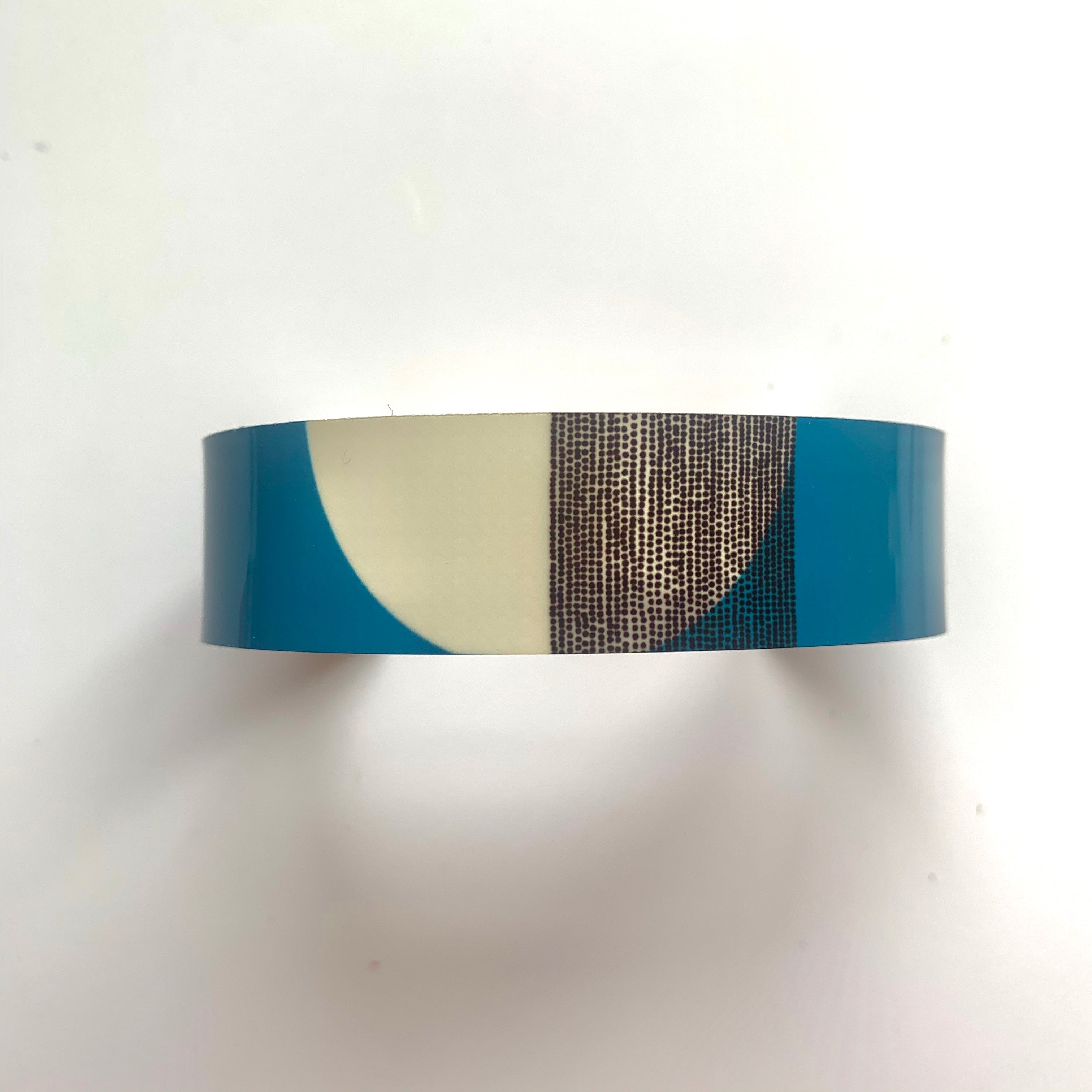 Balance Narrow Cuff Bracelet - Teal Band