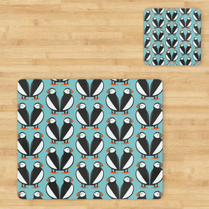 Puffins Coaster