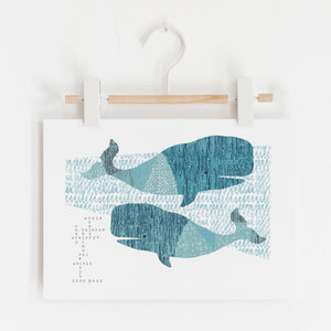 Whale Song Limited Edition Print