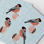 Load image into Gallery viewer, Bullfinch Pair Art Print