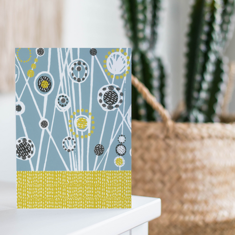 Cornflower Meadow Card