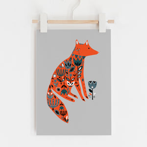 Fox Garden Limited Edition Print