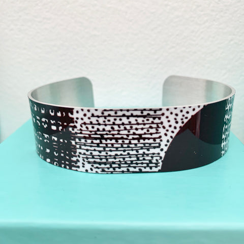 Freestyle Aluminium Cuff Bracelet (Narrow)