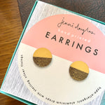 Load image into Gallery viewer, Balance Stud Earrings - Ochre