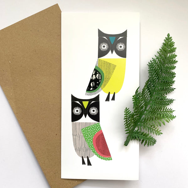 Hoot! Card (with free postage)