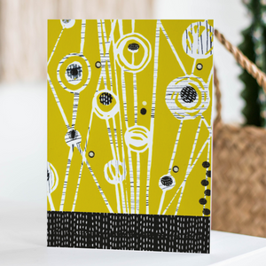 Mustard Meadow Card