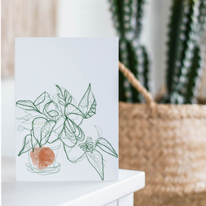 Arrowhead Plant Card