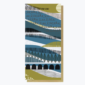 Rivers Run Large Art Card