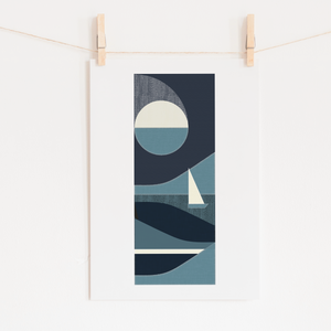 By the Light of the Moon Print