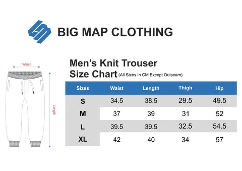 Trousers Size Chart