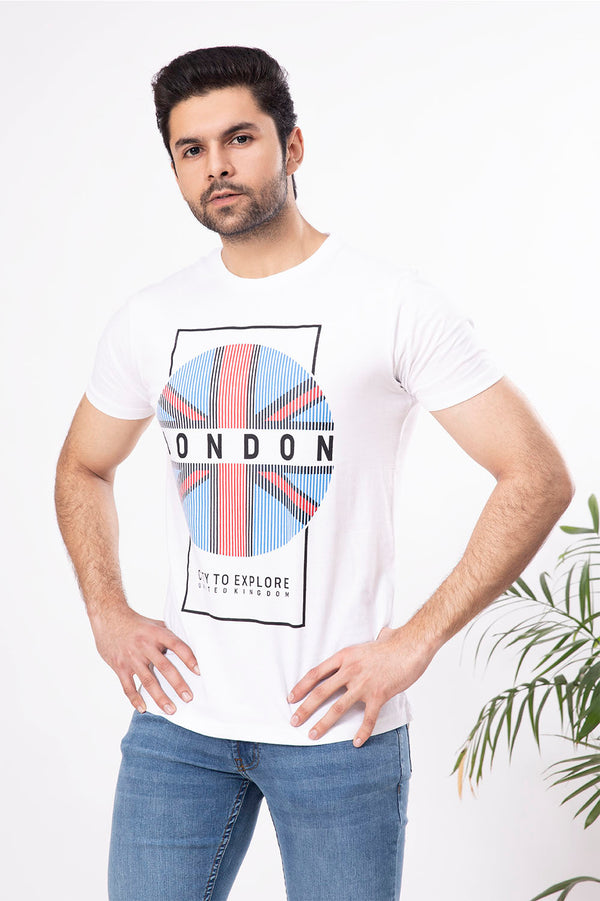 White London Crew Neck Shirt
