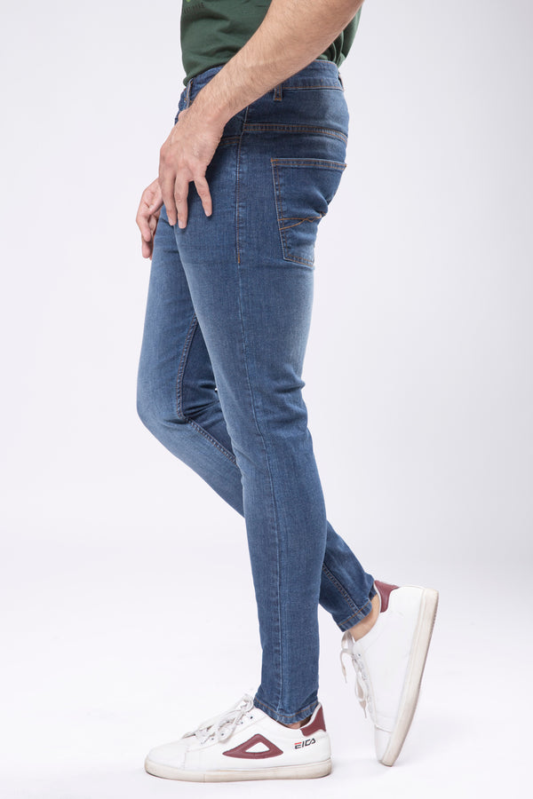 Dark Blue Denim Pant (SKIN FIT)