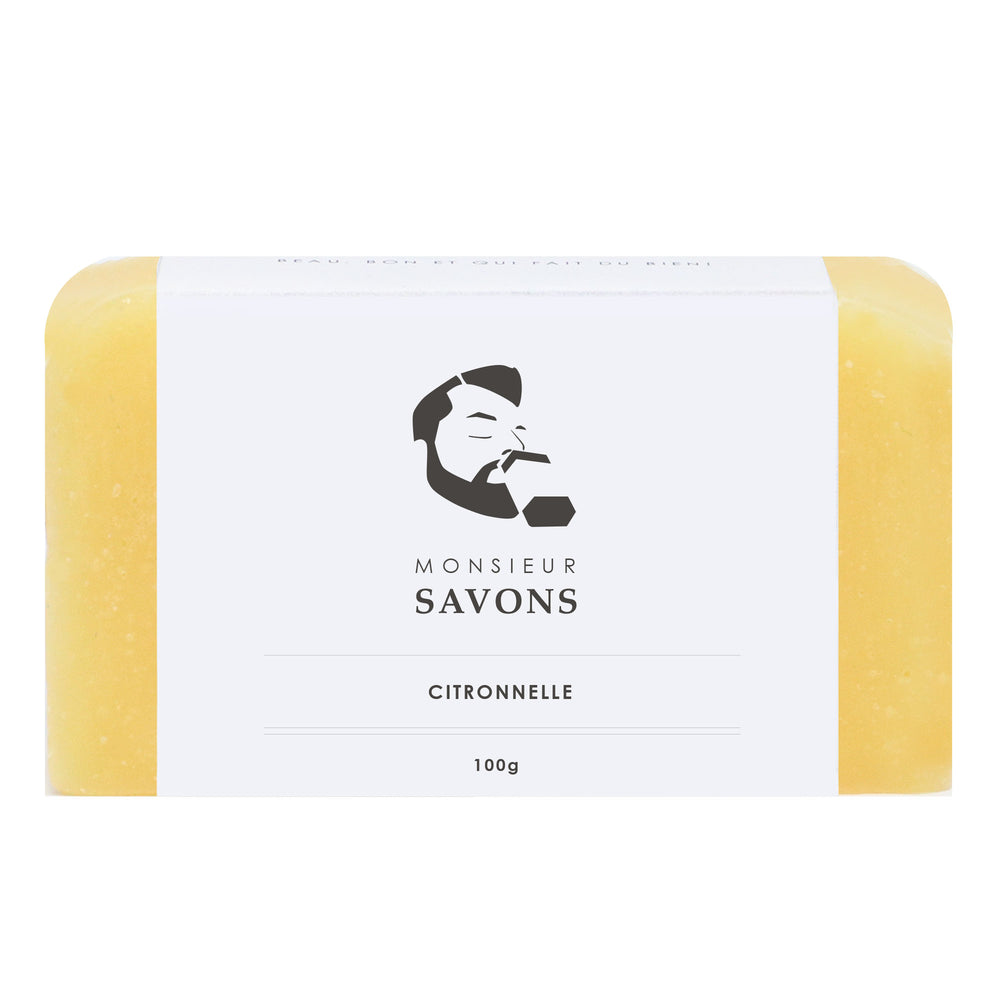Savon naturel citronnelle