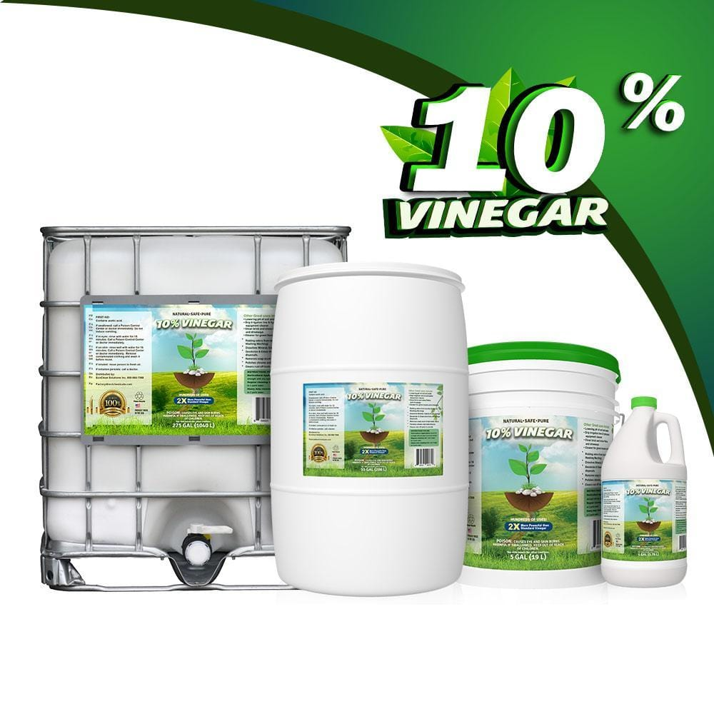 10% White Vinegar