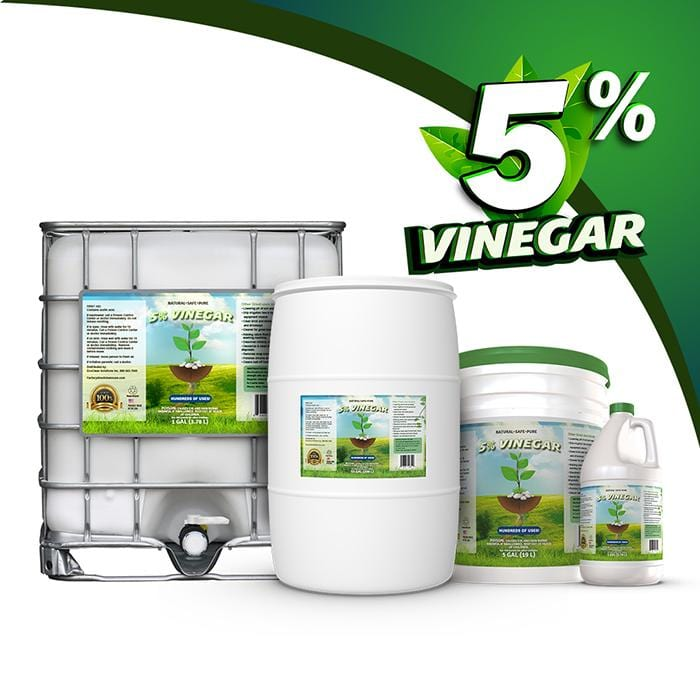5% White Vinegar