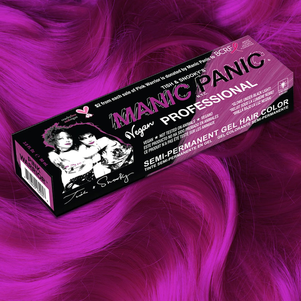 Pink Warrior - Professional Gel Semi-Permanent Hair Color