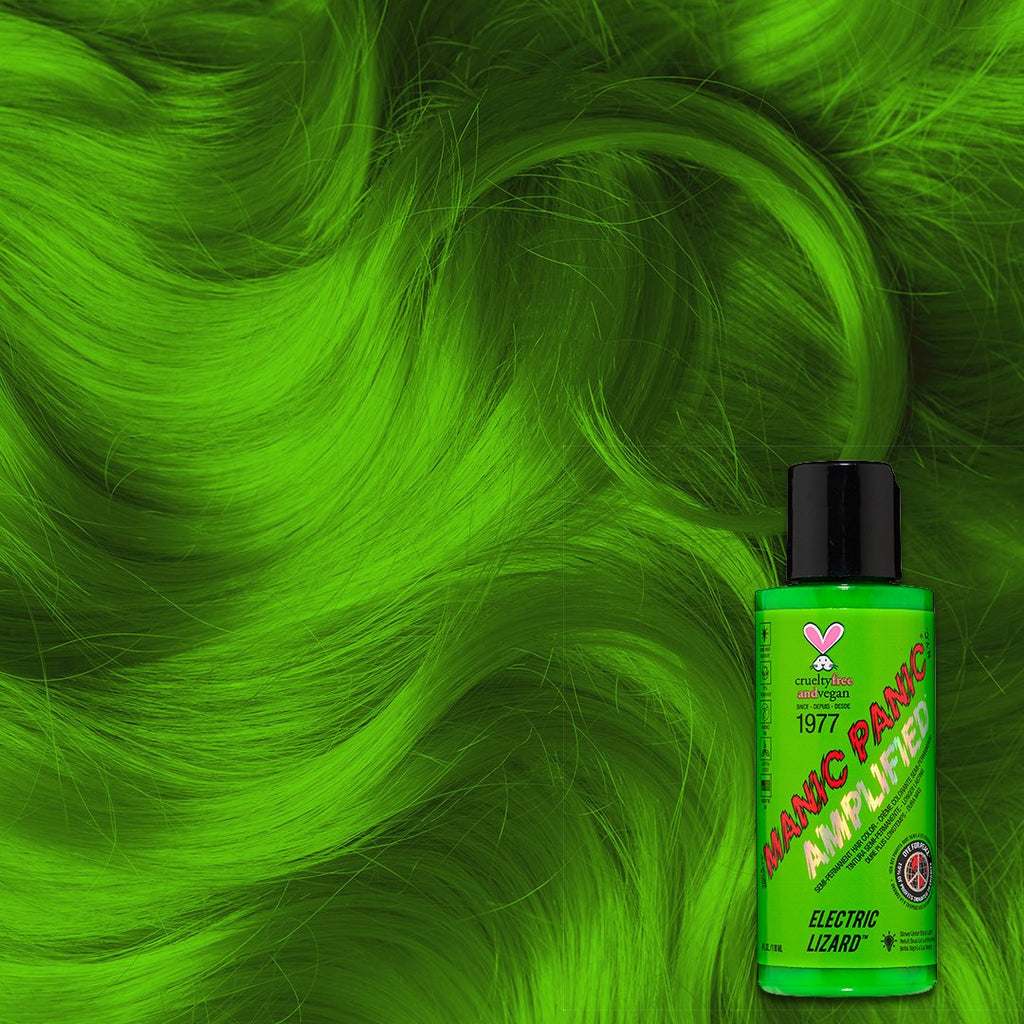 Amplified Hair Color Electric Lizard™ - Amplified™ - Tish & Snooky's Manic Panic