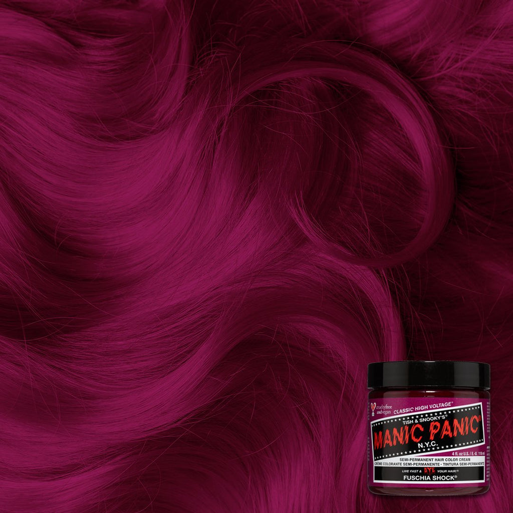 Classic Hair Color Fuschia Shock® - Classic High Voltage® - Tish & Snooky's Manic Panic