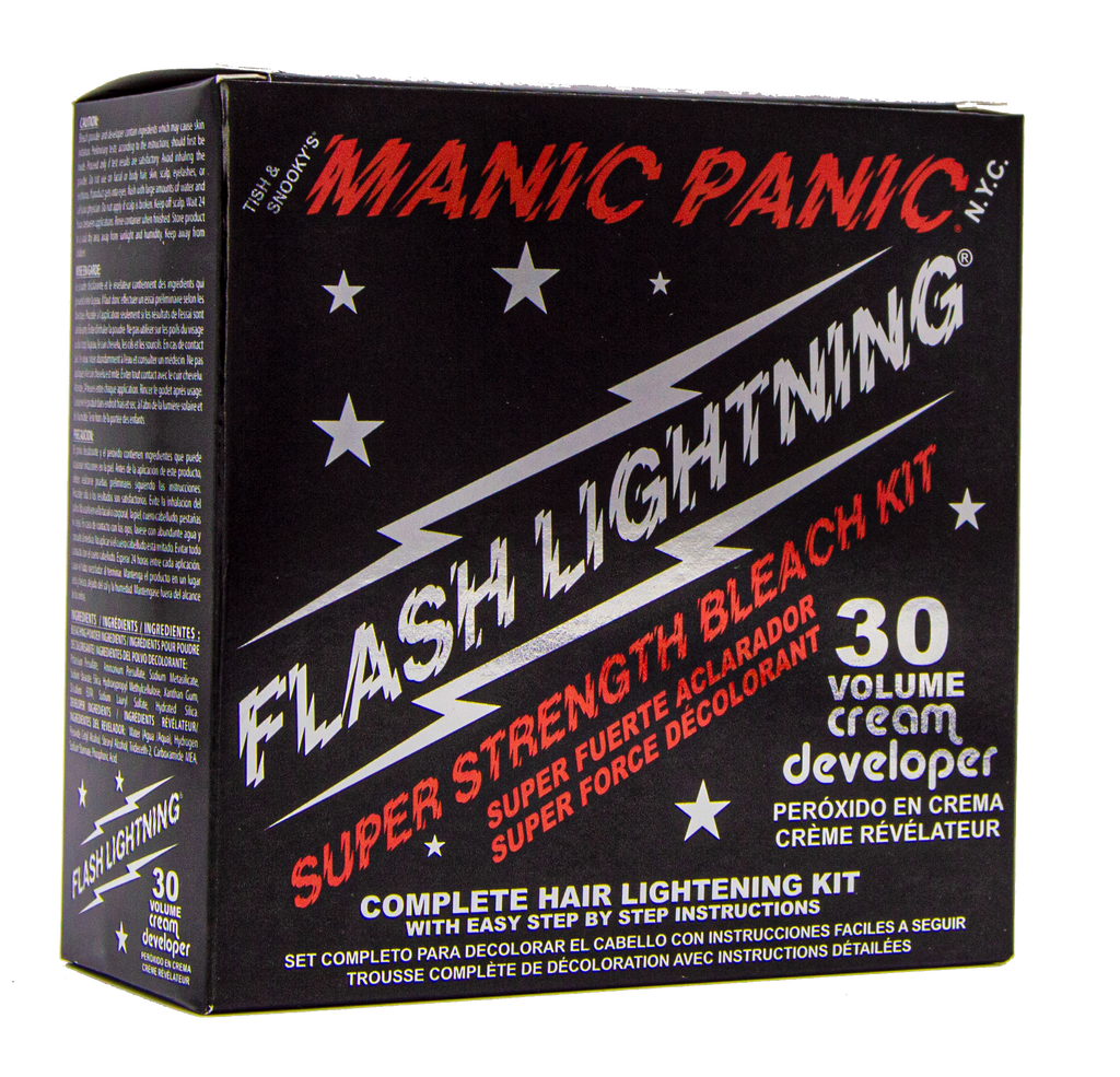 Bleach Flash Lightning® Bleach Kit - 30 Volume Cream Developer - Tish & Snooky's Manic Panic