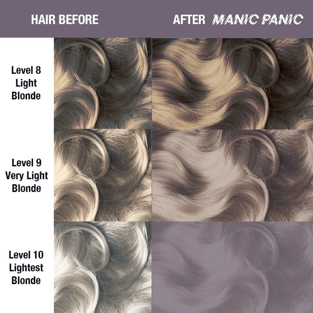 Classic Hair Color Amethyst Ashes® - Classic High Voltage® - Tish & Snooky's Manic Panic