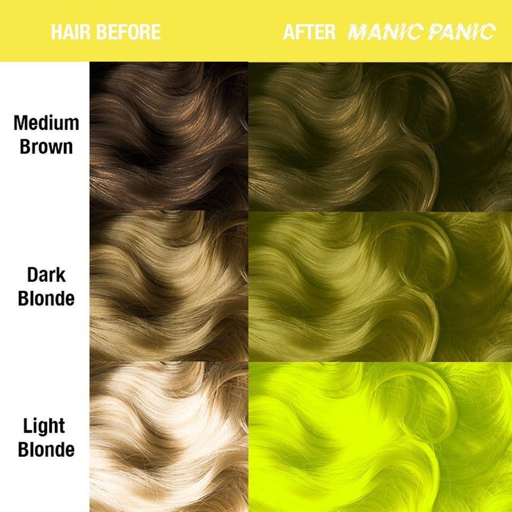 Classic Hair Color Electric Banana® - Classic High Voltage® - Tish & Snooky's Manic Panic