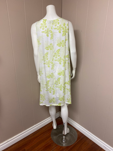 White green gauze tunic