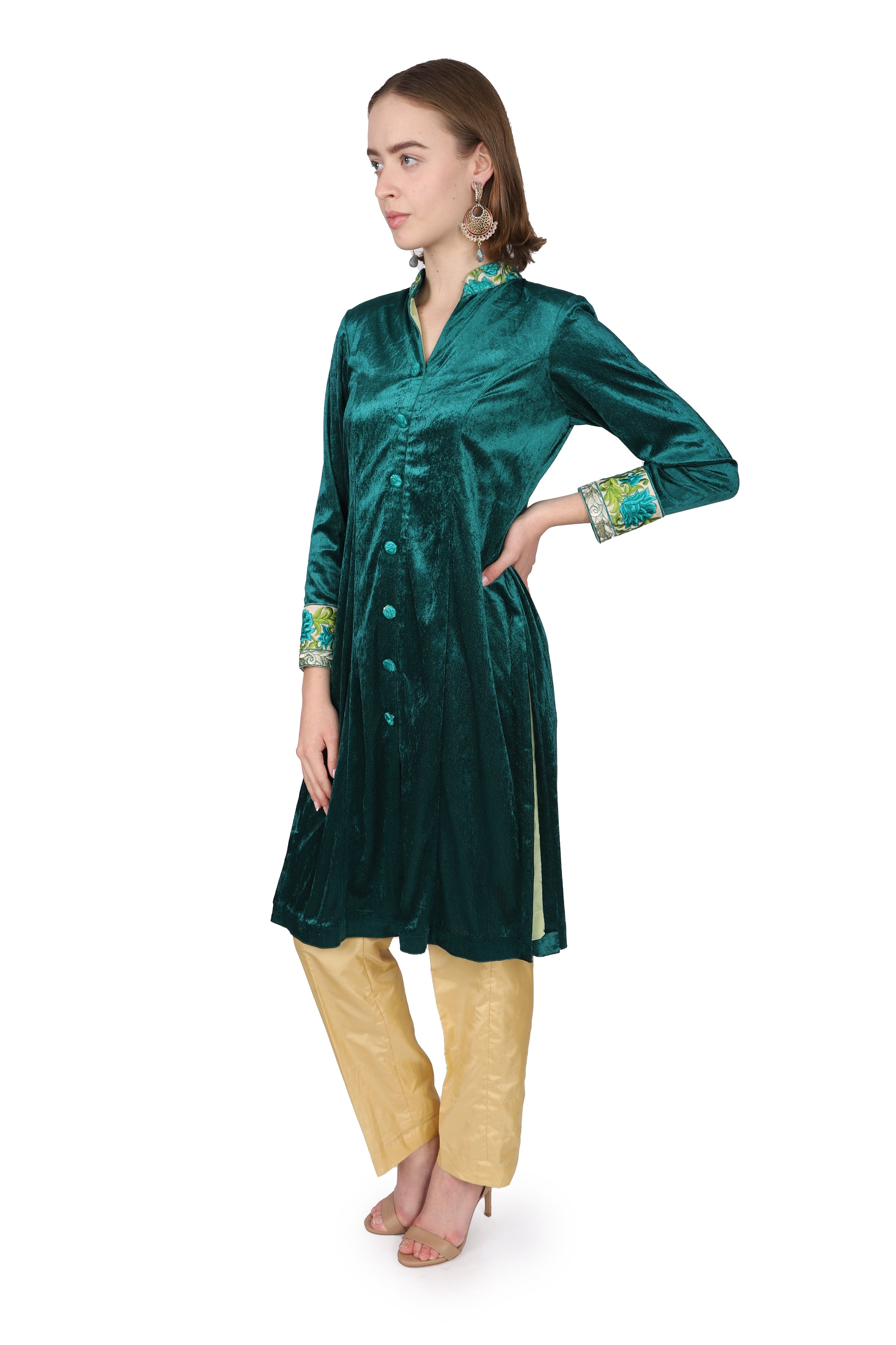 Velvet Green /Tunic only