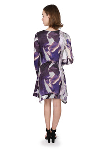 Purple  Trendy Tunic/Dress
