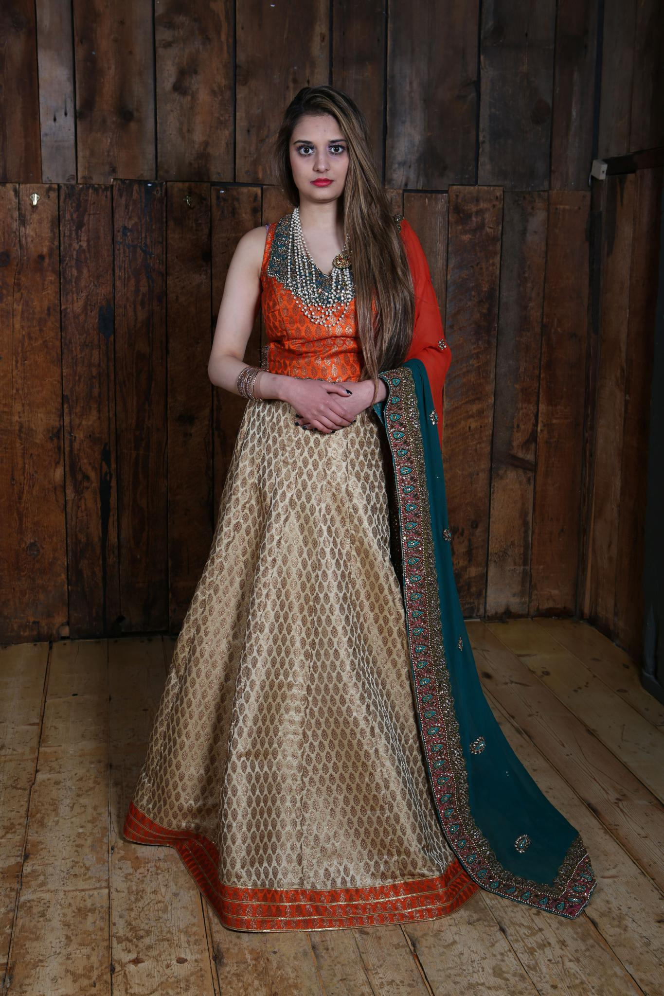 Rusted Orange Lahenga