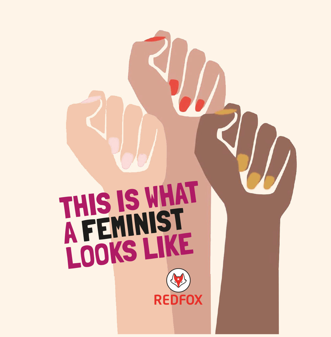 20 x This is what a feminist looks like - sticker
