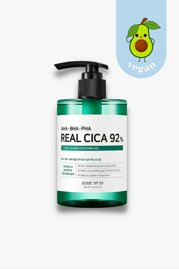 Some By Mi - AHA BHA PHA Real Cica 92% Cool Calming Soothing Gel - 300ml