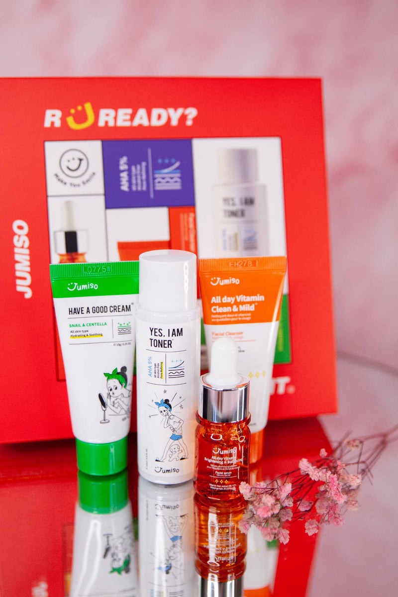 Jumiso - Let's Go! Kit - 4pcs