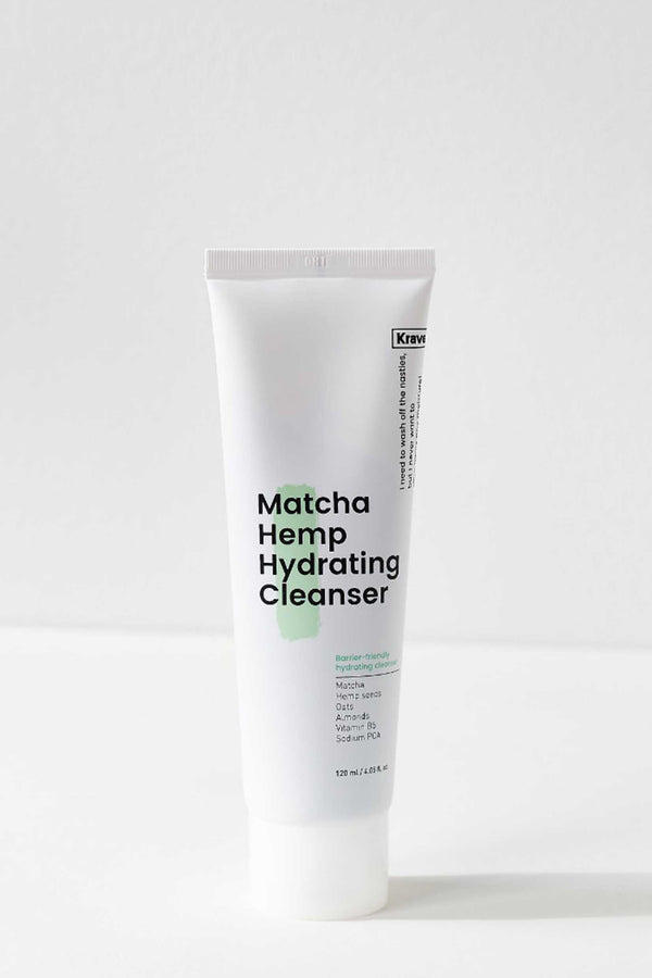 Krave Beauty - Matcha Hemp Hydrating Cleanser - 120ml
