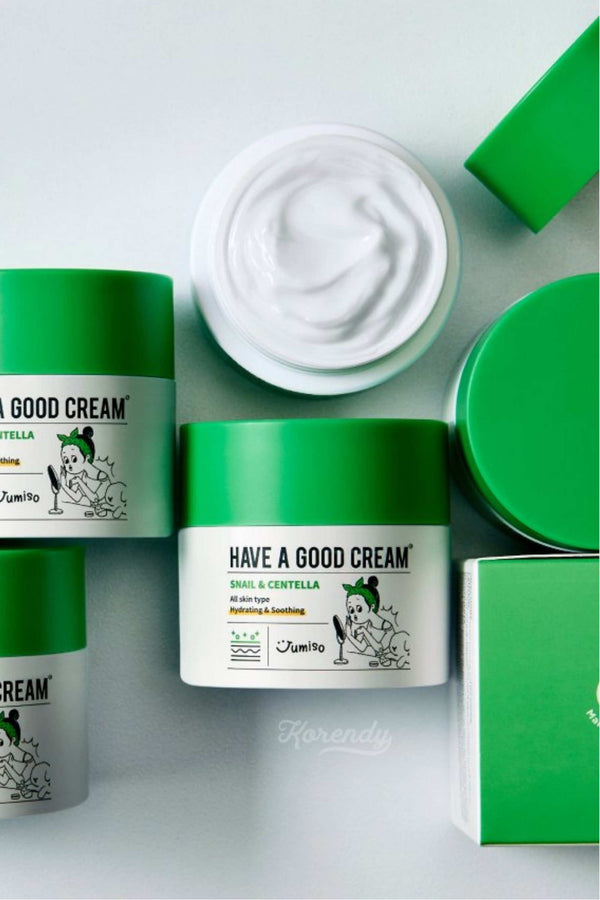 Jumiso - Have A Good Cream Snail And Centella - 50g