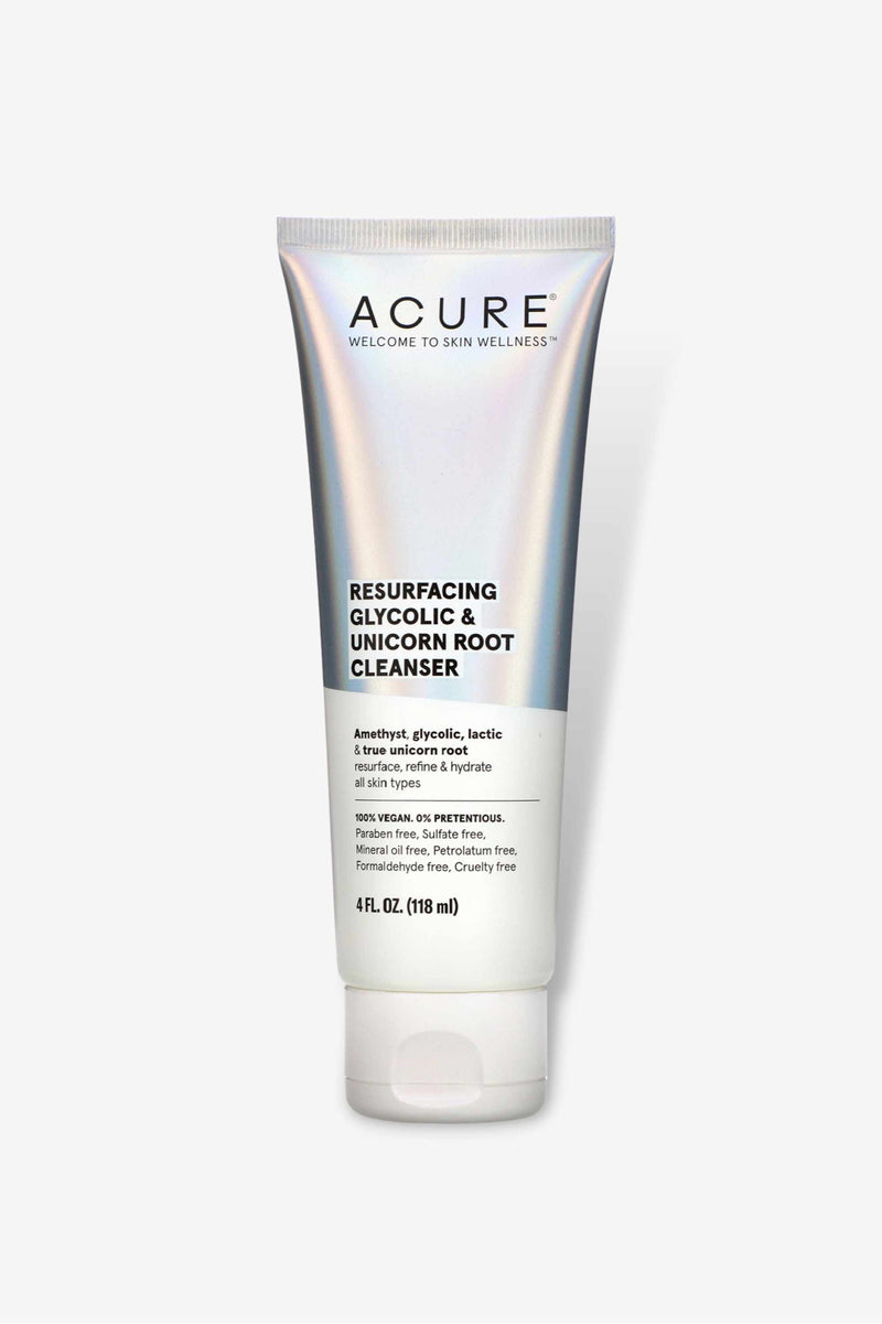 Acure - Resurfacing Glycolic & Unicorn Root Cleanser - 118ml