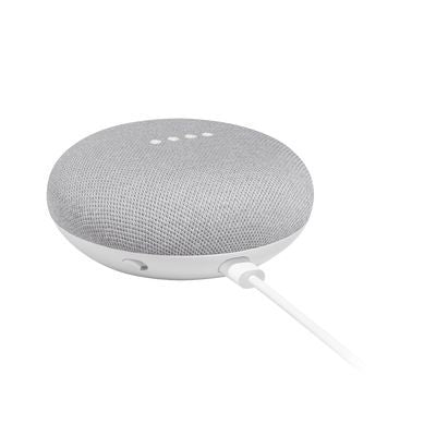Google Home Mini Asistente de Voz, Inalámbrico, WiFi, Bluetooth, Gris