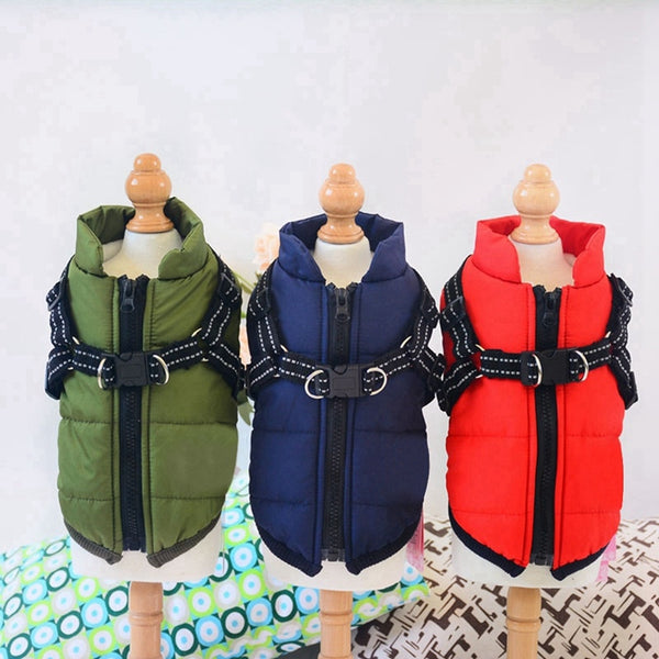 Waterproof Dog Jacket in 3 Colors