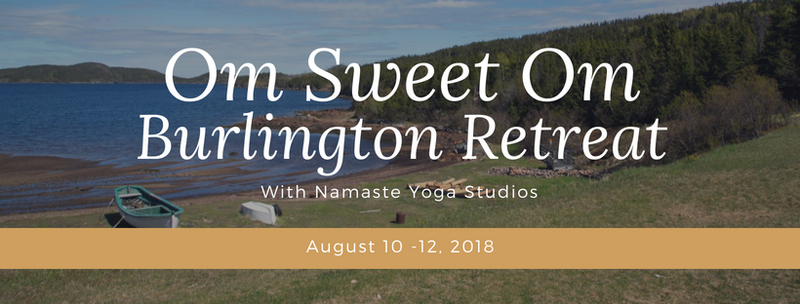 Burlington Yoga Retreat 2018 - Accommodations