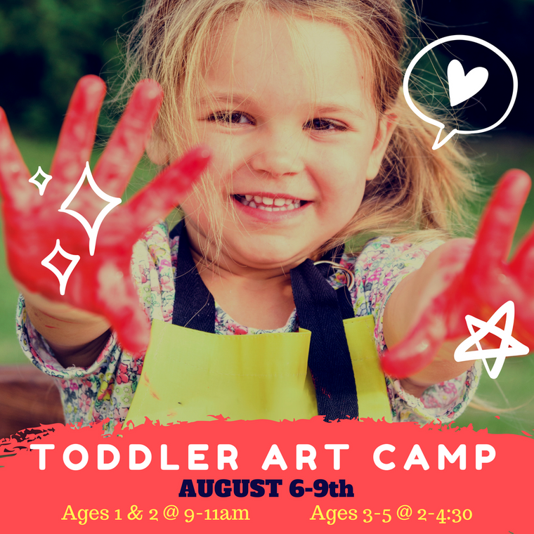 I Heart ART Summer Camp (Ages 3-5)