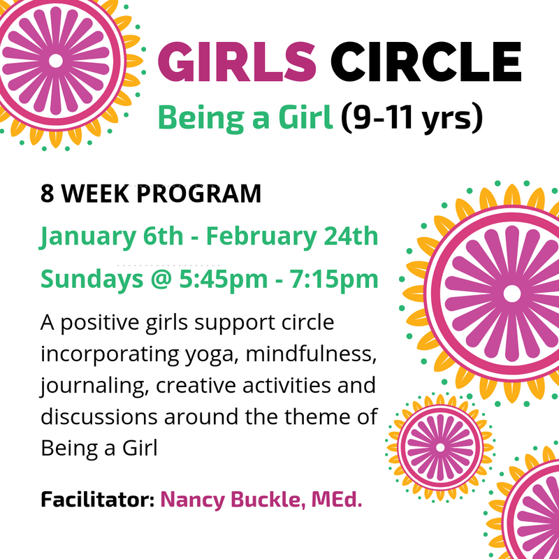 Girls Circle: Being a Girl (Ages 9-11)