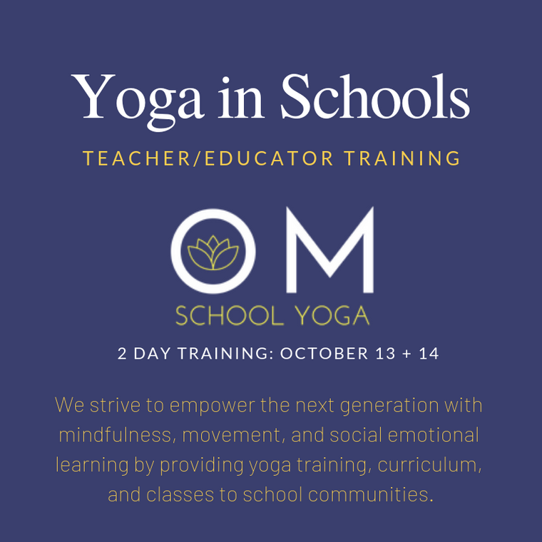 Yoga in the Classroom - Teacher Training