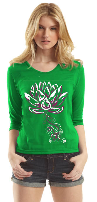 ALL NEW - LOTUS 3/4 Sleeve