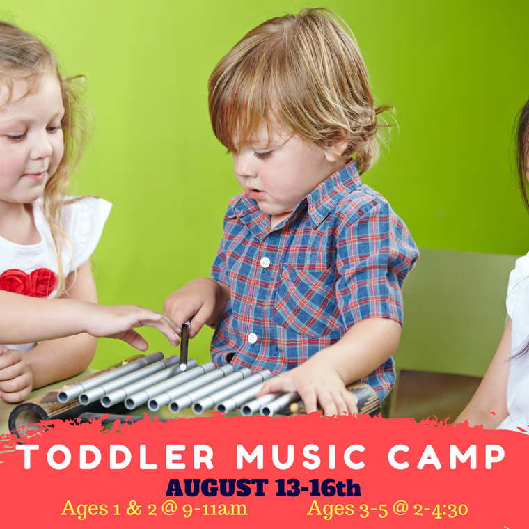 Rhythm and Romp - Summer Music Camp (Ages 3-5)