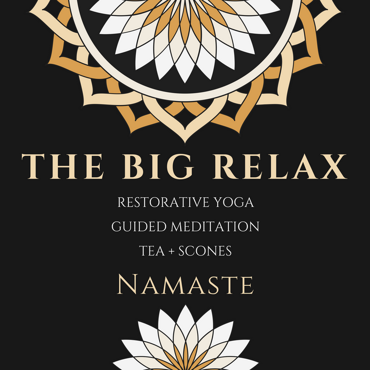 The Big Relax: A Restorative Yoga Staycation (with Special Guest: Jamie Hanley)