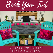 Load image into Gallery viewer, Burlington Yoga Retreat 2020 - Tent Booking
